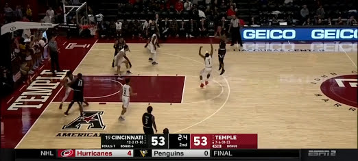 Bearcats Host Temple Preview